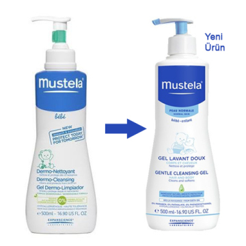 Mustela Dermo Cleansing Yeni Adıyla Gentle Cleansing Gel