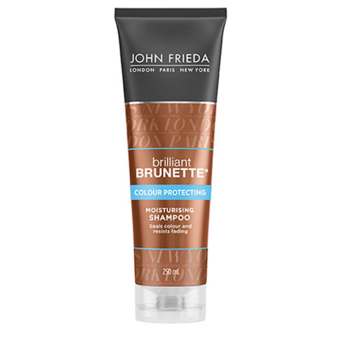 John Frieda Brilliant Brunette Colour Protecting Shampoo 250ml